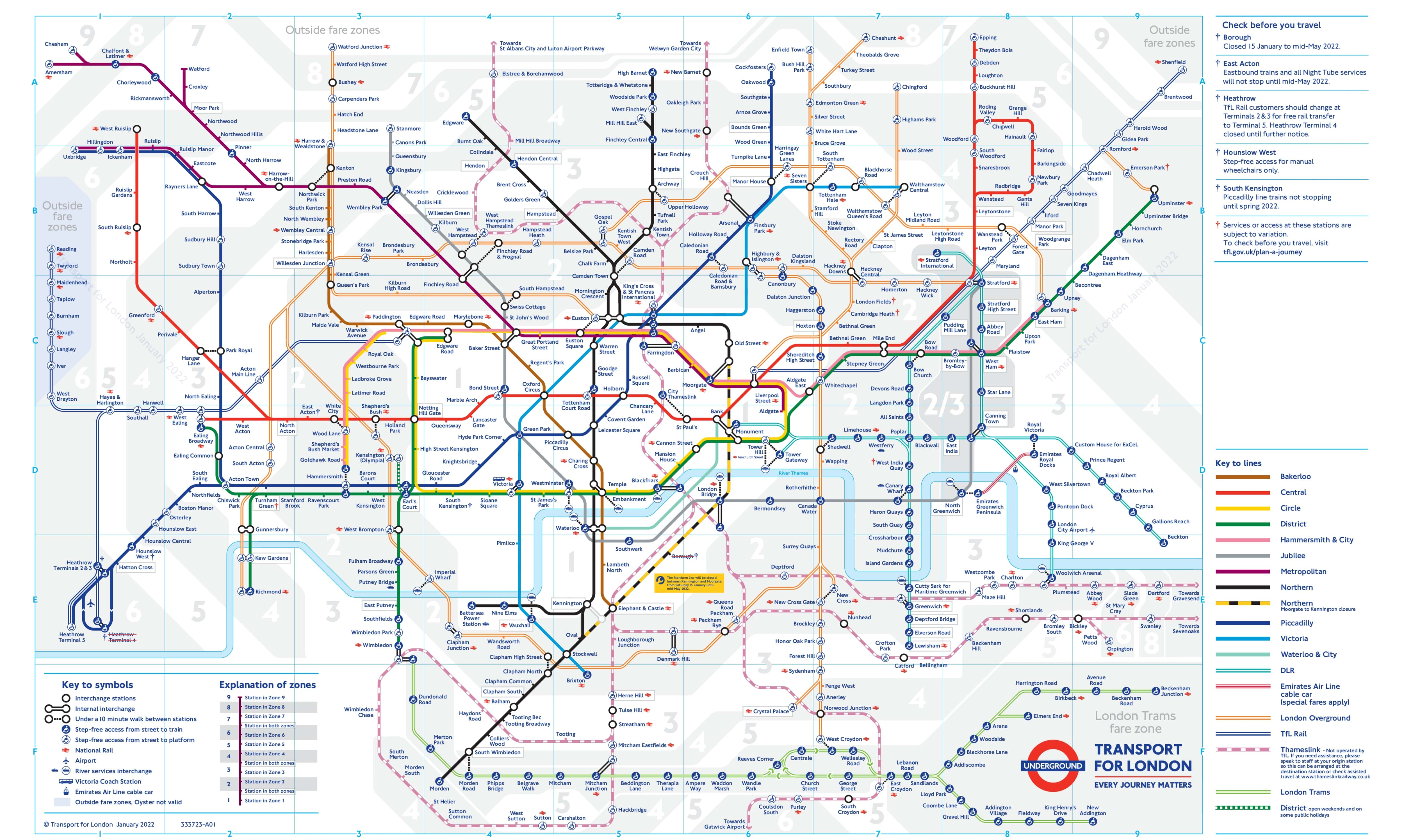 tube map gallery