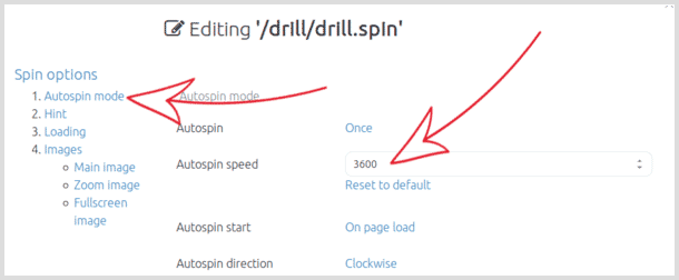 Change the speed of animated GIF